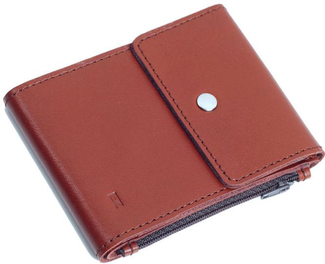 Зажим для денег Duo от EZcase - купить - Натуральная кожа - Цвет кожи: коричневый